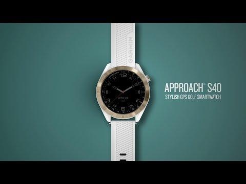 lyteCache.php?origThumbUrl=https%3A%2F%2Fi.ytimg.com%2Fvi%2F3FHXqS4I 7A%2F0 - Garmin announces the Approach S40, a stylish GPS watch for golfers