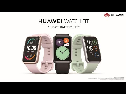 lyteCache.php?origThumbUrl=https%3A%2F%2Fi.ytimg.com%2Fvi%2F5B6s7cMQyGg%2F0 - The newly unveiled Huawei Watch Fit delivers a wide viewing experience