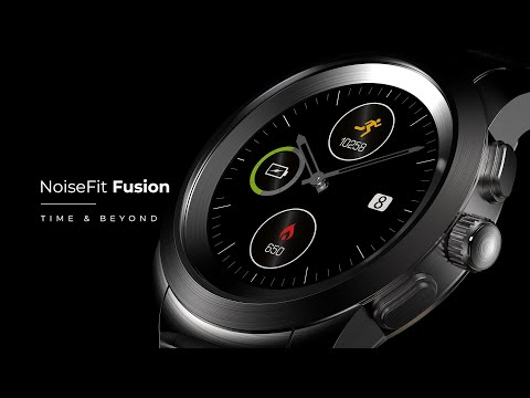 lyteCache.php?origThumbUrl=https%3A%2F%2Fi.ytimg.com%2Fvi%2F5tVfLL8OLcA%2F0 - NoiseFit Fusion is a touch-screen smartwatch with mechanical hands