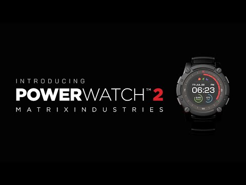 lyteCache.php?origThumbUrl=https%3A%2F%2Fi.ytimg.com%2Fvi%2F8K5i2pVKBEA%2F0 - The watch that never needs charging, Matrix PowerWatch 2 is now available to buy