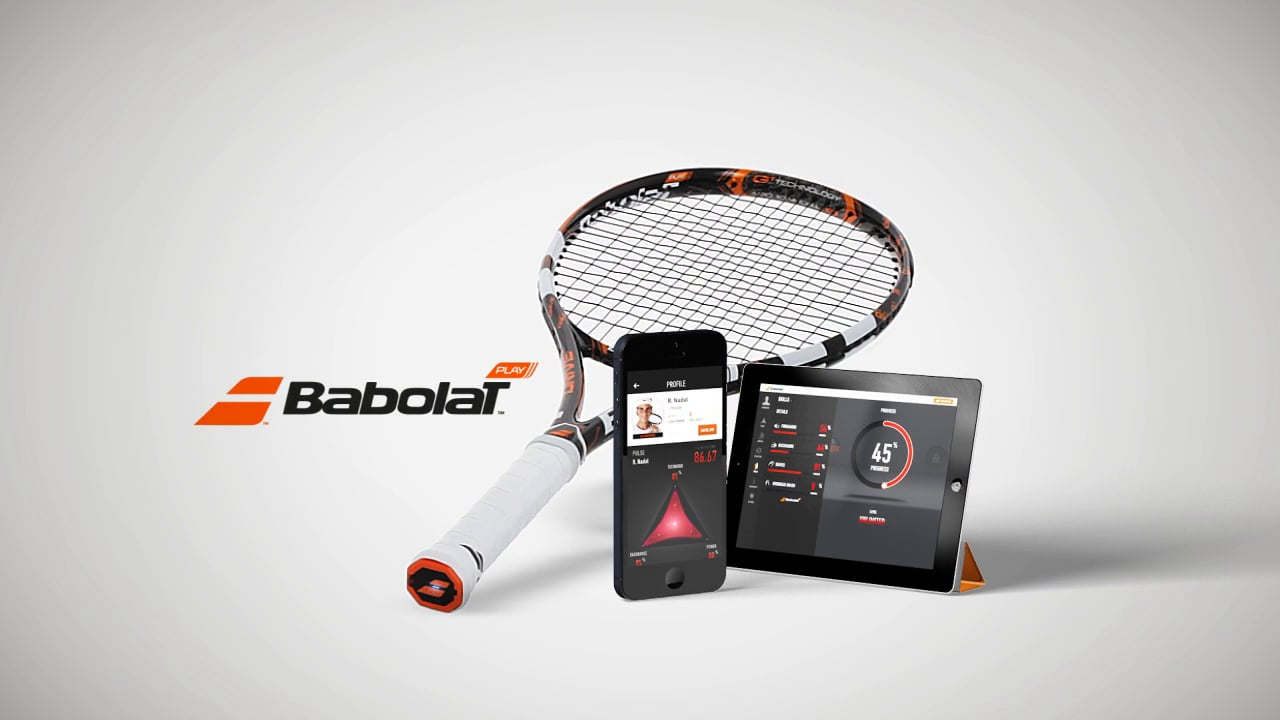 review babolat play connected the first smart racket. Black Bedroom Furniture Sets. Home Design Ideas