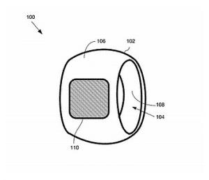apple s next big product iring patent filed 300x258 - Apple's next big product? iRing patent filed.