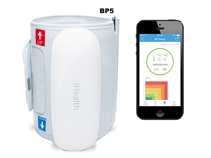 review ihealth wireless blood pressure monitor - Review: iHealth Wireless Blood Pressure Monitor