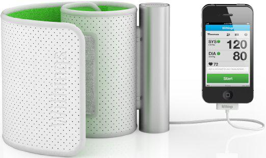 review withings wireless blood pressure monitor - Review: Withings wireless blood pressure monitor
