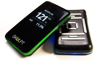 top fitness trackers and health gadgets 3 - Review: Skulpt Aim - hand held body fat monitor