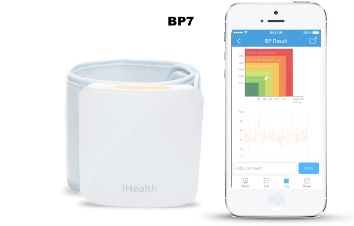 top smart blood pressure monitors - Review: iHealth Wireless Blood Pressure Monitor