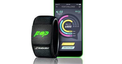 Babolat Pop – the first smart tennis wristband