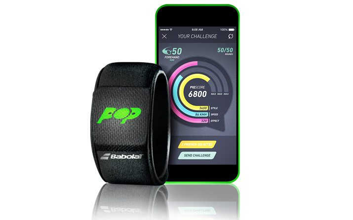 Babolat Pop – the first smart tennis wristband