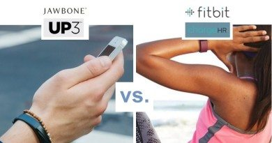 Fitbit Charge HR or Jawbone UP3 – head to head comparison