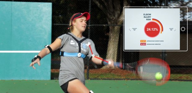 Pivot: smart wearable for tennis on Indiegogo