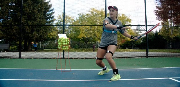 pivot smart wearable for tennis on indiegogo 4 - Pivot: smart wearable for tennis on Indiegogo