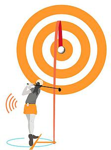 """golf wearable that helps you perfect your aiming 3 - Golf wearable that helps you perfect your""""Aiming"""""""