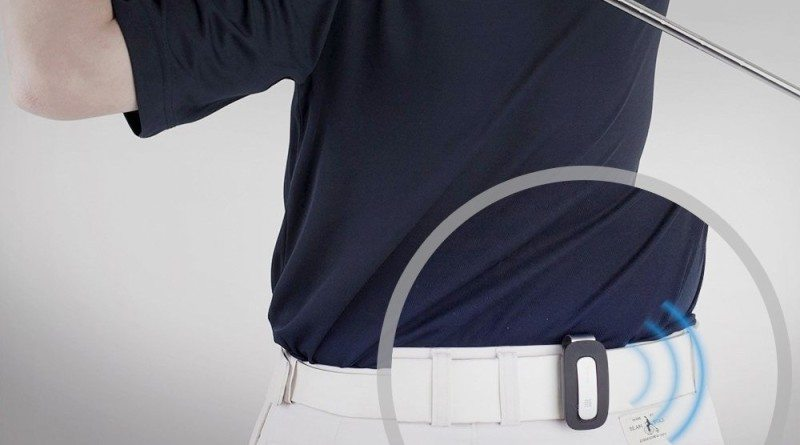 "Golf wearable that helps you perfect your ""Aiming"""