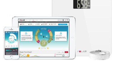 Polar launches its own smart scale