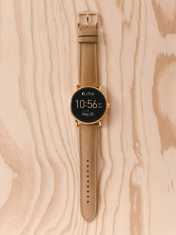 fossil unveils 7 more stylish wearables 2 - Fossil's new Android Wear smartwatches up for pre-order