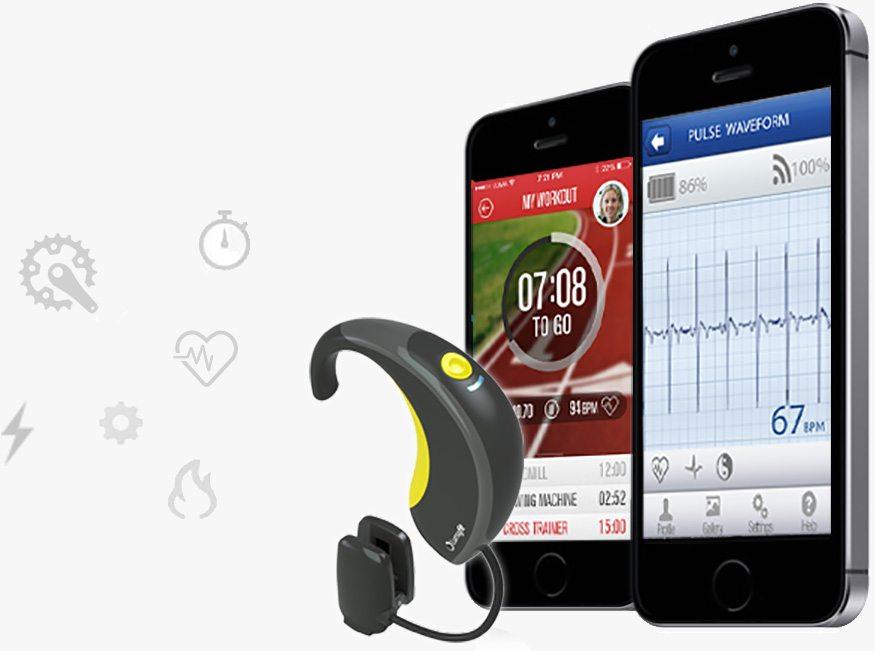 lumafit interactive fitness coach and heart rate monitor for your ear 2 - Lumafit: Interactive fitness coach and heart rate monitor for your ear