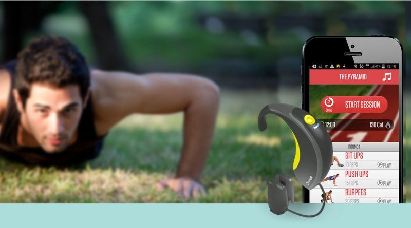 Lumafit: Interactive fitness coach and heart rate monitor for your ear