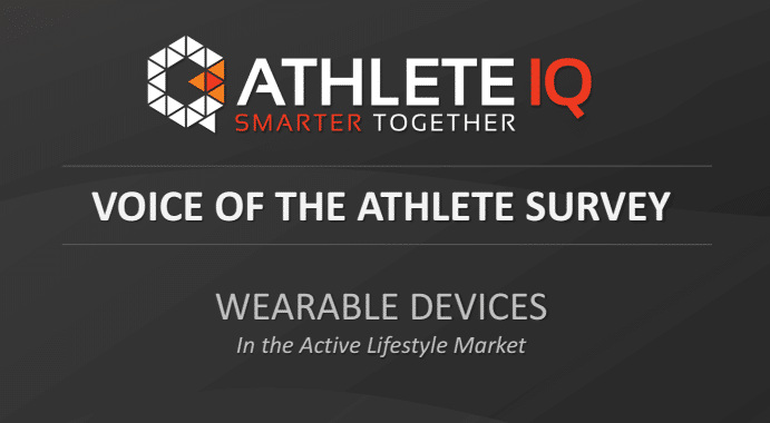 survey shows wearable preferences of professional athletes - Survey shows wearable preferences of professional athletes