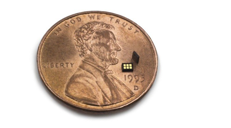The world's smallest sensing module is out – its four times thinner than a one cent coin!