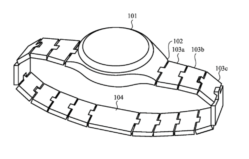 apple watch patent reveals possible smart bands 2 - Apple Watch patent reveals possible smart bands
