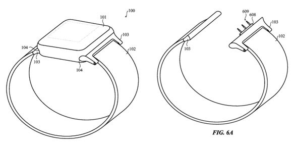 apple watch patent reveals possible smart bands - Apple Watch patent reveals possible smart bands