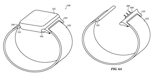 apple watch patent reveals possible smart bands - Apple Watch patent reveals possible smart bands