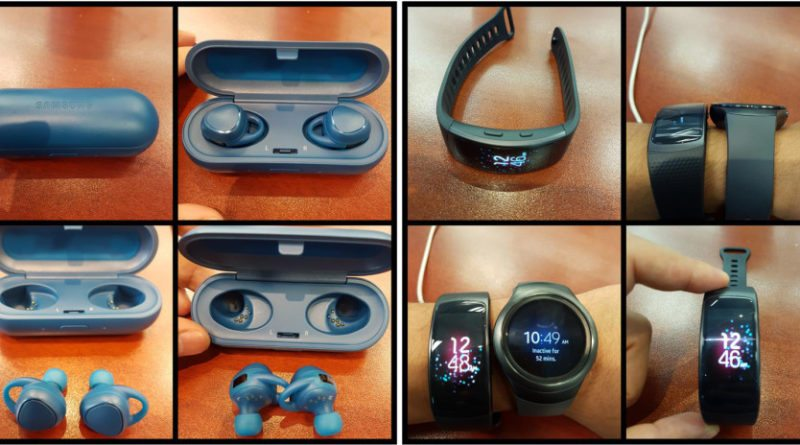Leaked images of Samsung's new Gear Fit 2 tracker surface online