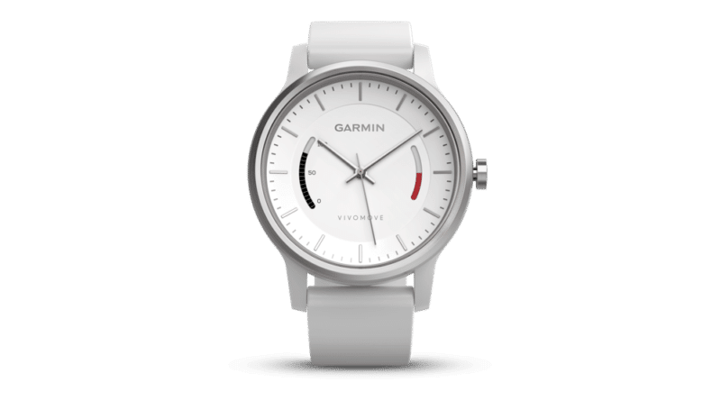 Garmin's Vivomove is a stylish watch with activity tracking