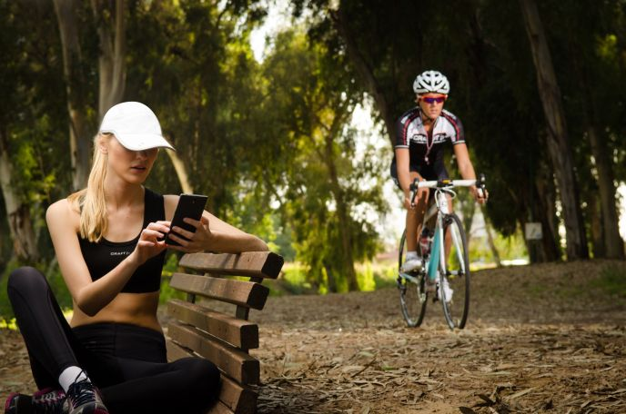 lifebeam smart helmet with integrated heart rate monitor 4 - LifeBEAM Smart Helmet with integrated heart rate monitor