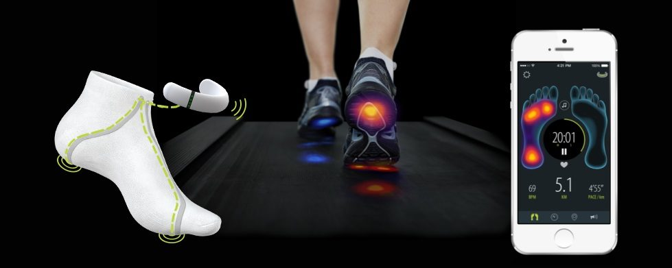smart shoes tracking fitness through your feet 9 - Moving away from the wrist - smart clothing you'll actually want to wear