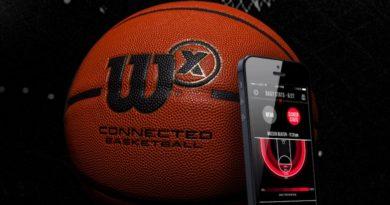 This smart basketball keeps track of your shooting skills