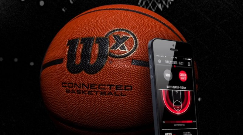 This smart basketball keeps track of your shooting skills