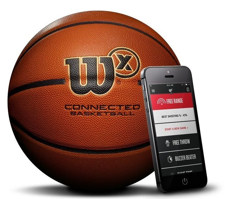 this smart basketball keeps track of your shooting skills - This smart basketball keeps track of your shooting skills