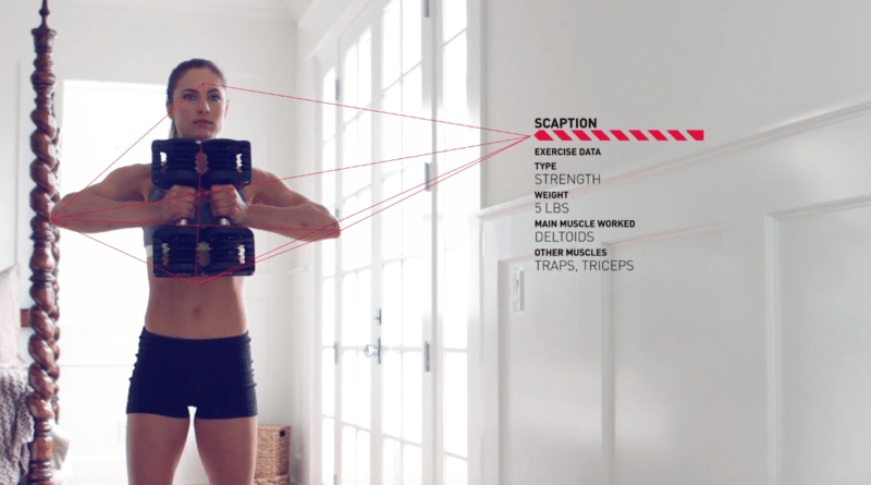 Bowflex smart dumbbells remove the need for manual tracking