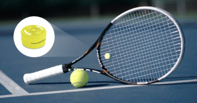 Make your tennis racket intelligent with the Smart Dampener