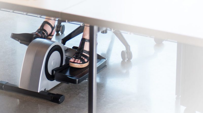 Cubii is the world's first smart under-desk elliptical machine