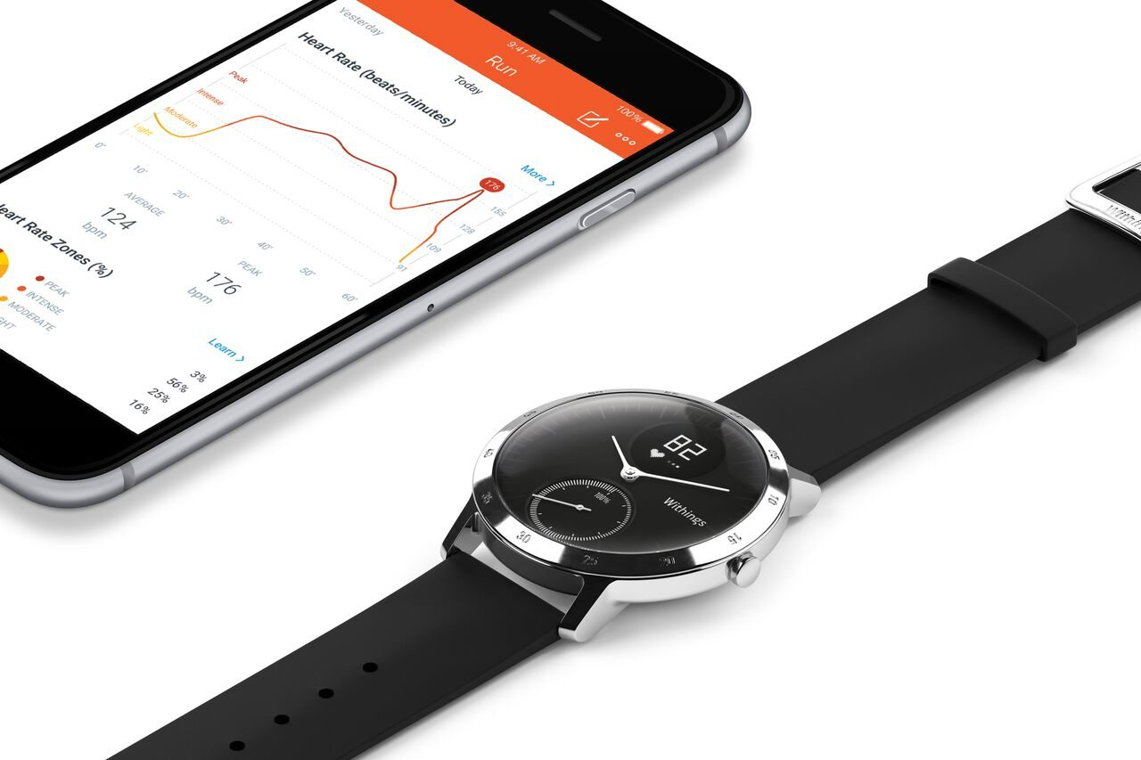 first look withings adds heart rate monitoring to its analogue watch - First look: Withings adds heart rate monitoring to its analogue watch