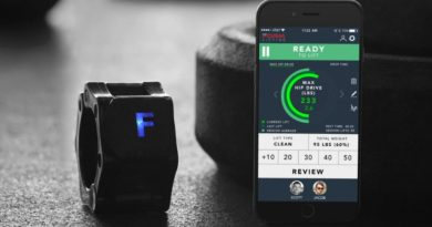 FORM Collar: a smart device to help you with barbell lifts