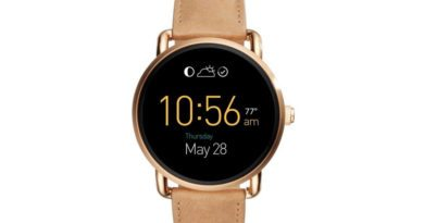 Fossil's new Android Wear smartwatches up for pre-order