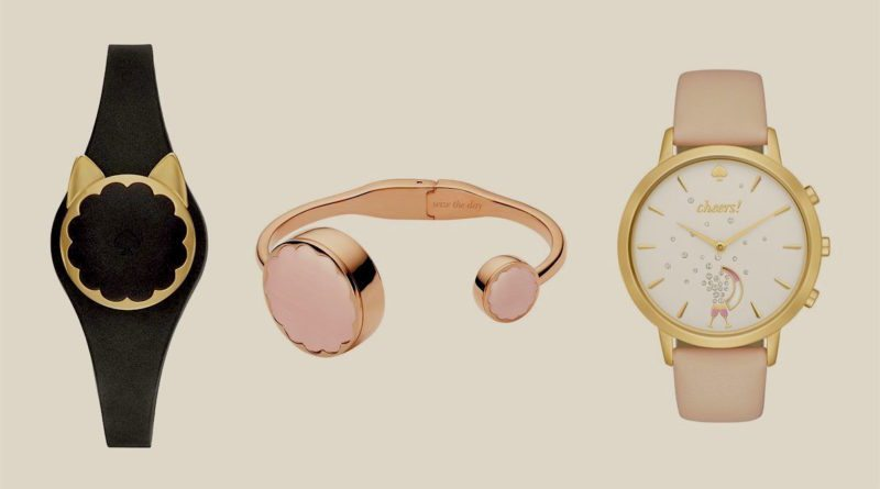 Kate Spade's line of fashionable fitness trackers is now on sale