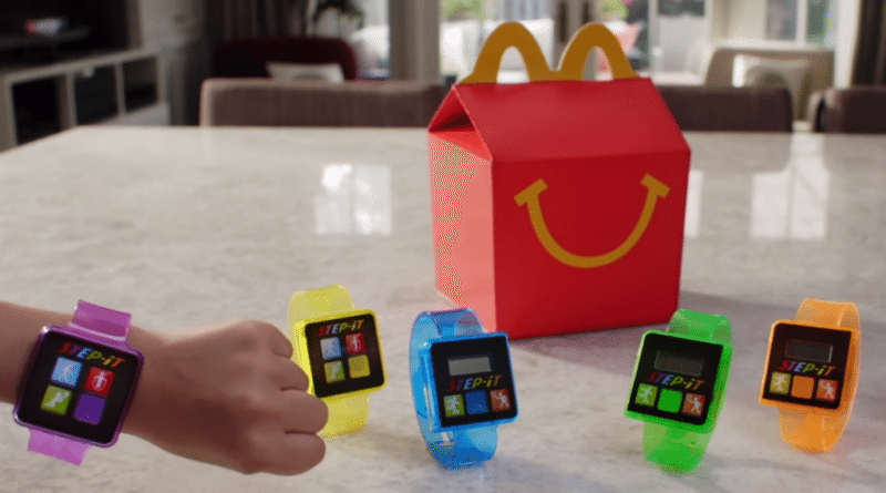 McDonalds ends its foray into fitness tracking following a rash of complaints