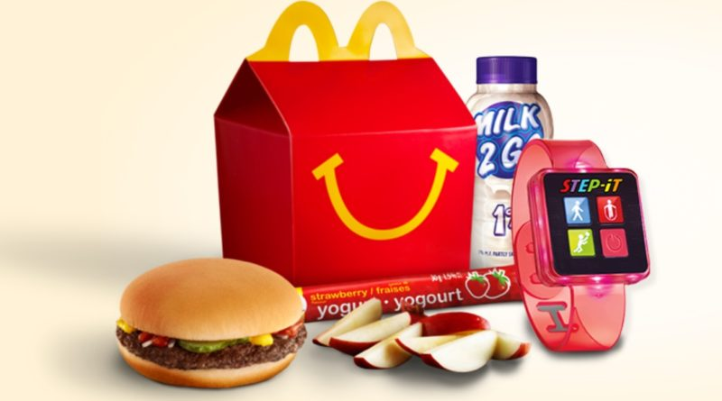 McDonalds new Happy Meal toy is an activity tracker