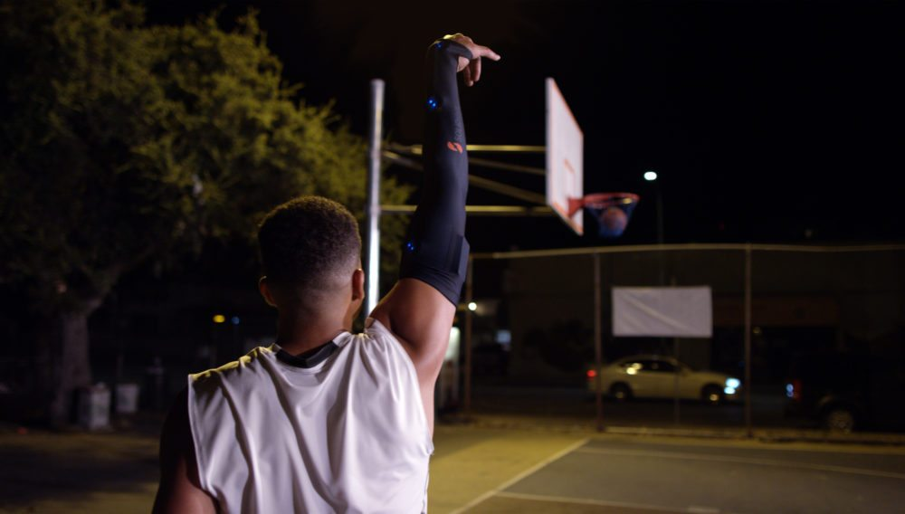 play like a pro with the solidshot basketball smart sleeve - Play like a pro with the SOLIDshot Basketball Smart Sleeve