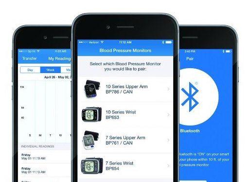top smart blood pressure monitors 2 - Top smart blood pressure monitors