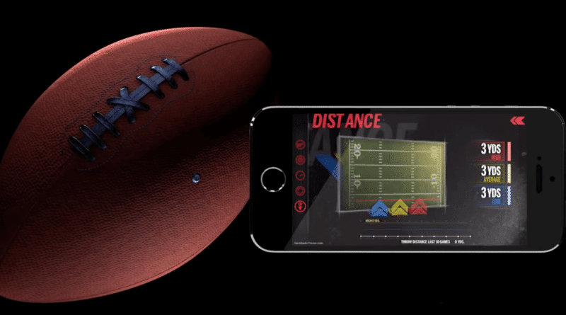 Wilson brings us the world's first smart football