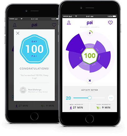 personal activity intelligence: Activity tracker uses ...