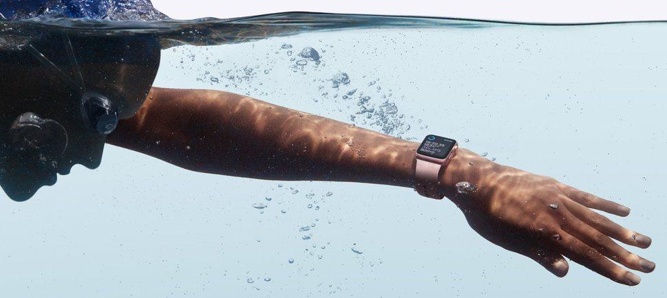apple unveils swim friendly watch 2 series 2 - Apple unveils swim-friendly Watch 2 series