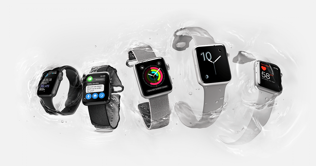apple unveils swim friendly watch 2 series - Apple unveils swim-friendly Watch 2 series