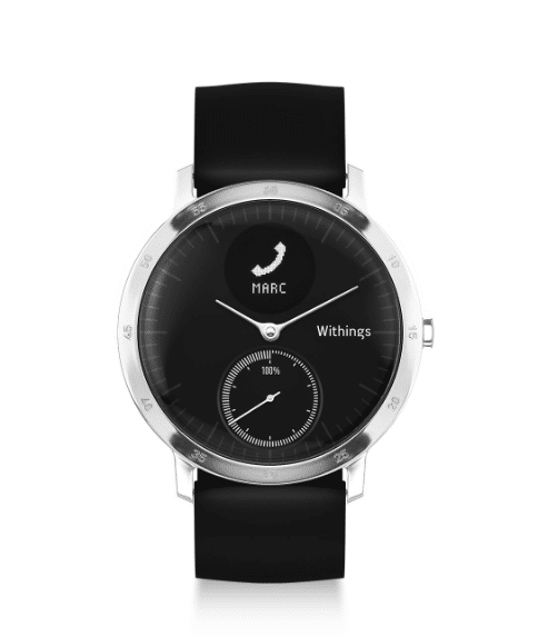 top fitness trackers and health gadgets - Review: Withings Steel HR, a smart classic looking watch with heart