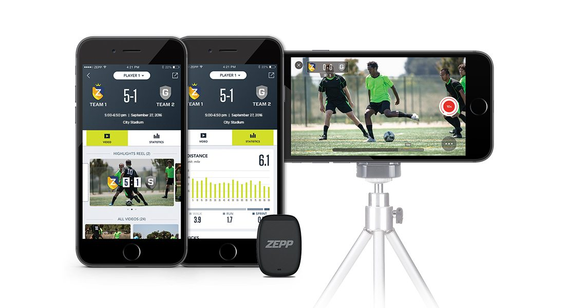Soccer DeviceLockup 72dpi - Training sensors for soccer (aka football) players
